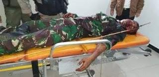 Satu Anggota TNI AD Ditembak oleh Pasukan TPN PB OPM di Paniai