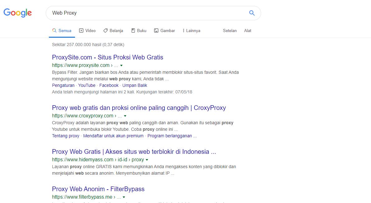 Cara Mengatasi Restricted.tri.co.id Blocking Page
