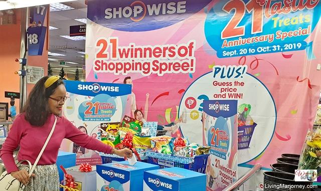 Shopwise 21 Tastic Promo