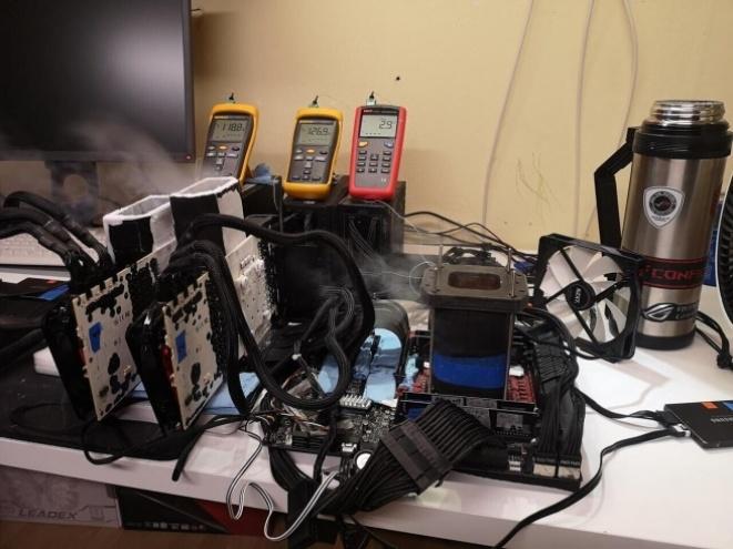 GALAX GeForce RTX 3090 Hall Of Fame (HOF) overclock