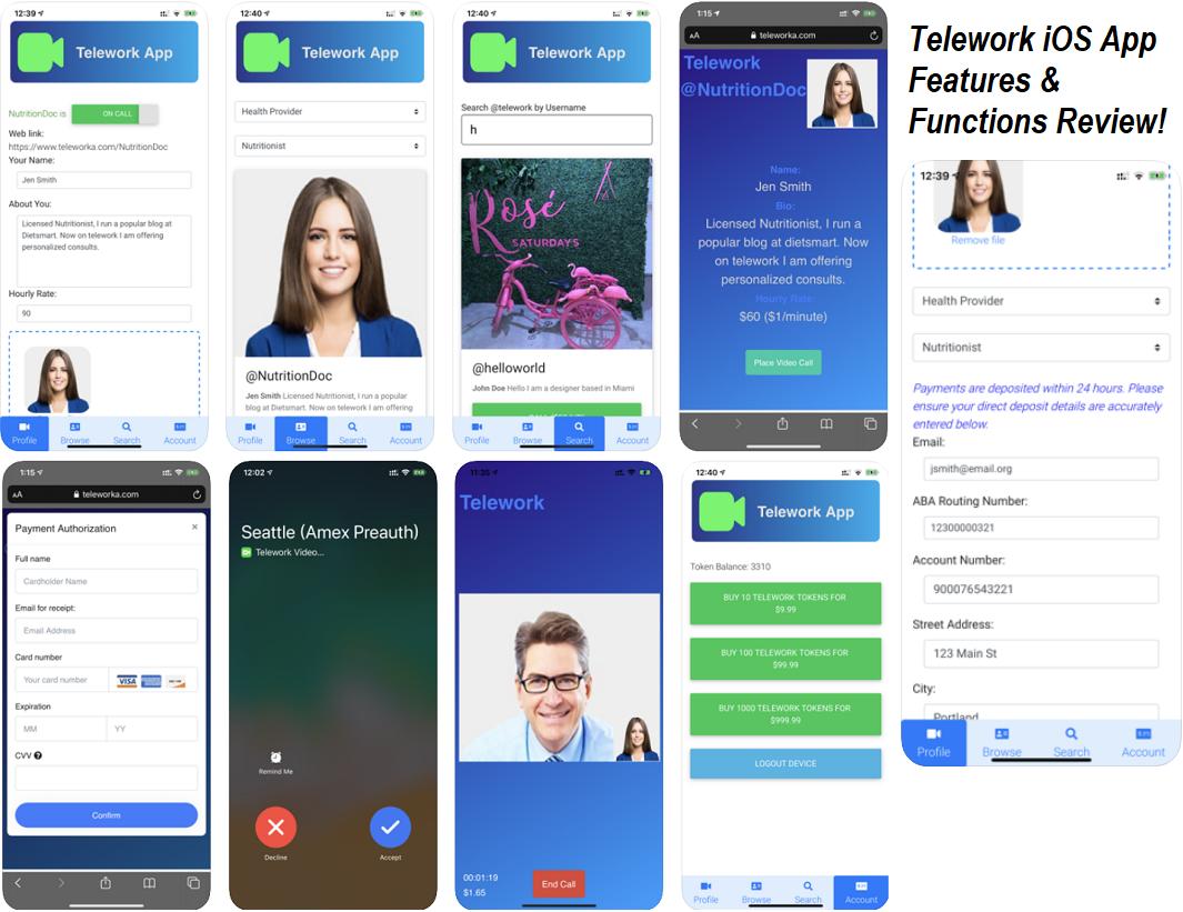 Telework iOS App