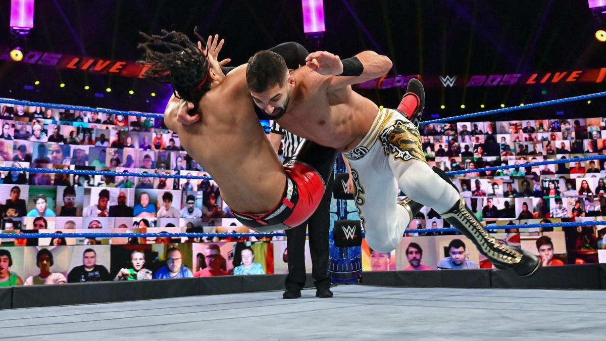 Ariya Daivari on WWE 205 Live