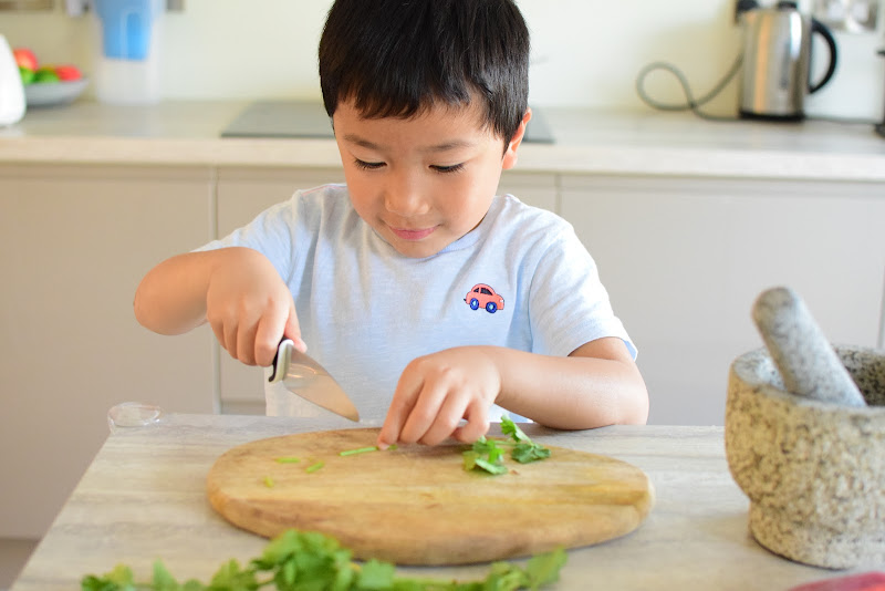 Simple Food Preparation and Recipe Ideas for Kids: THAI SALAD DRESSING