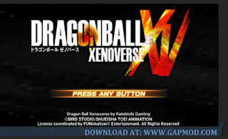Dragon Ball Xenoverse 2 Mod Android Download for PPSSPP