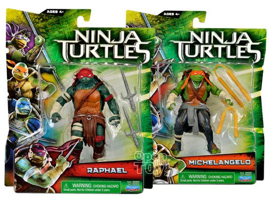 Playmates Teenage Mutant Ninja Turtles Movie Toys