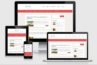 10 Free Simple Blogger Responsive Templates - ComProMath