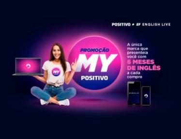 Cadastrar Promoção My Positivo 6 Meses Curso Inglês