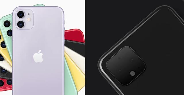 مقارنة بين هواتف بيكسل 4 وهواتف أيفون 11.. من الأحسن والأقوى؟