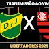 Flamengo x Defensa y Justicia - Copa Libertadores | 21/07/2021