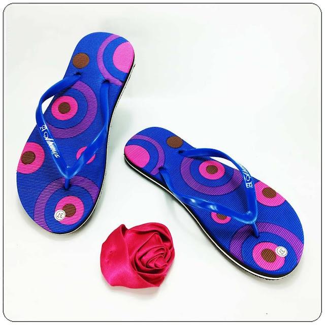 Pabrik Sandal Wanita | Sandal Jepit AB Cewe Simplek | Pabrik Sandal Spon Murah