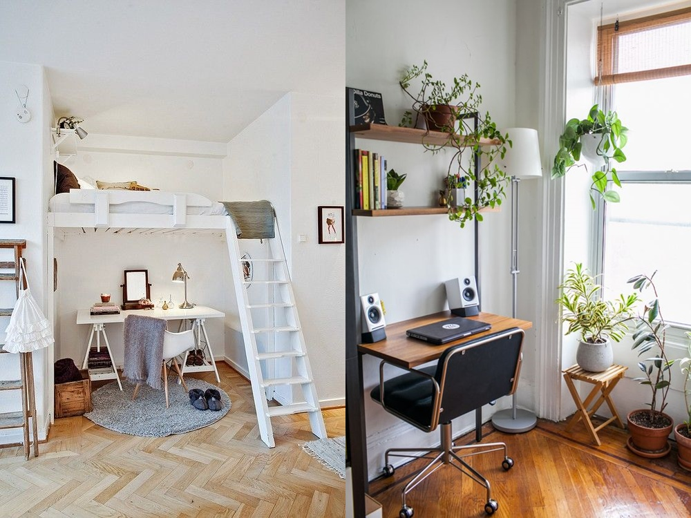 Ideas aprovechar espacio piso peque o casa dise o for Ideas para aprovechar espacios pequenos