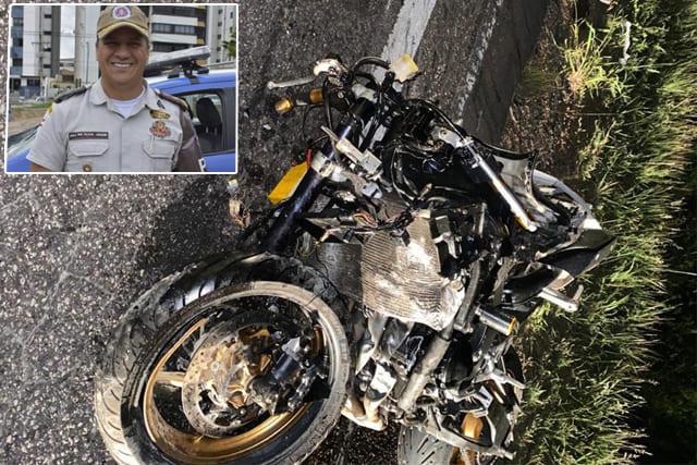 Major da PM morre após moto ser atingida por carro no Sudoeste da Bahia