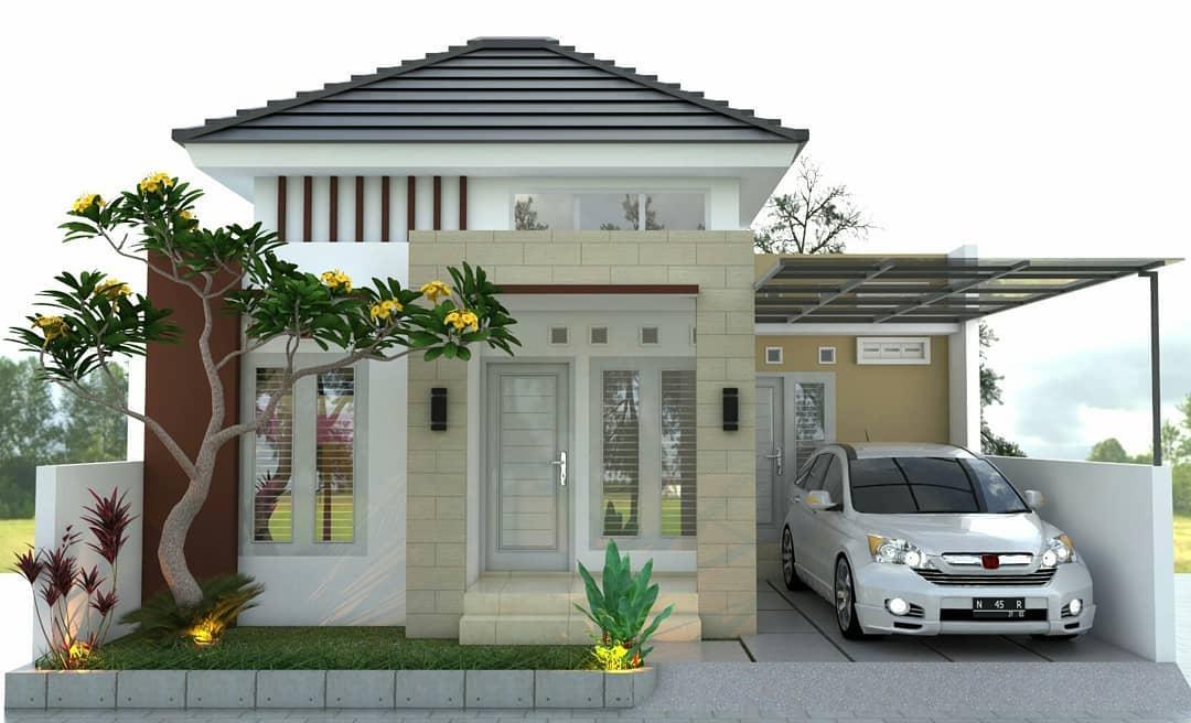 Desain dan Denah Rumah Minimalis Konsep Hemat Energi ...