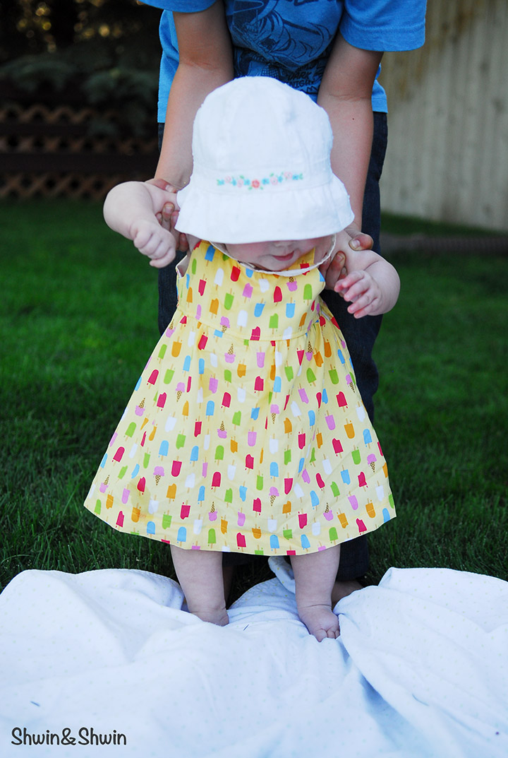 1d889678c881 Summer Breeze Baby Dress  Free PDF Pattern  - Shwin and Shwin