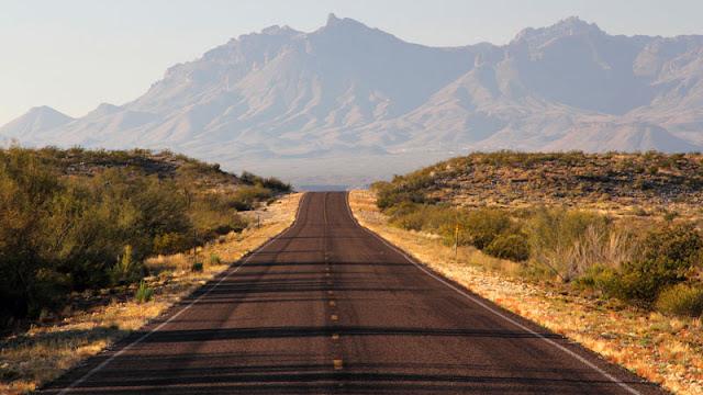 Road extending onward