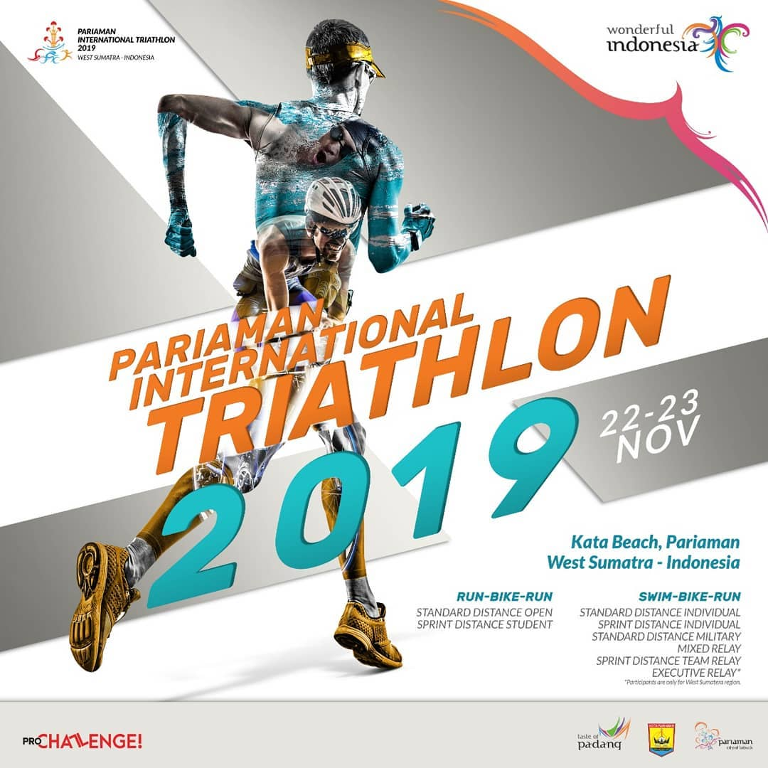 Pariaman International Triathlon • 2019