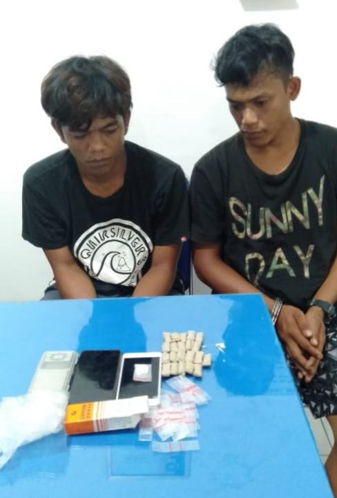 Ditangkap Polres Simalungun, Pelaku Penyalahgunaan Narkotika Diserahkan ke Polres Pematangsiantar