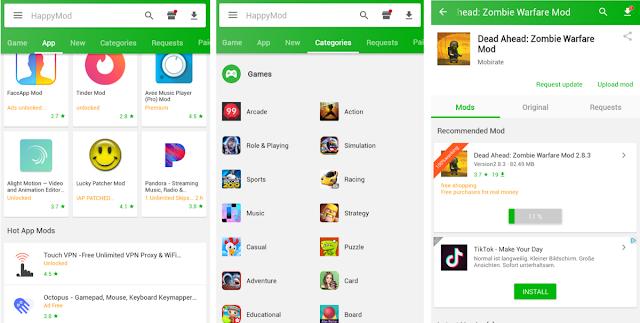 HappyMod Android