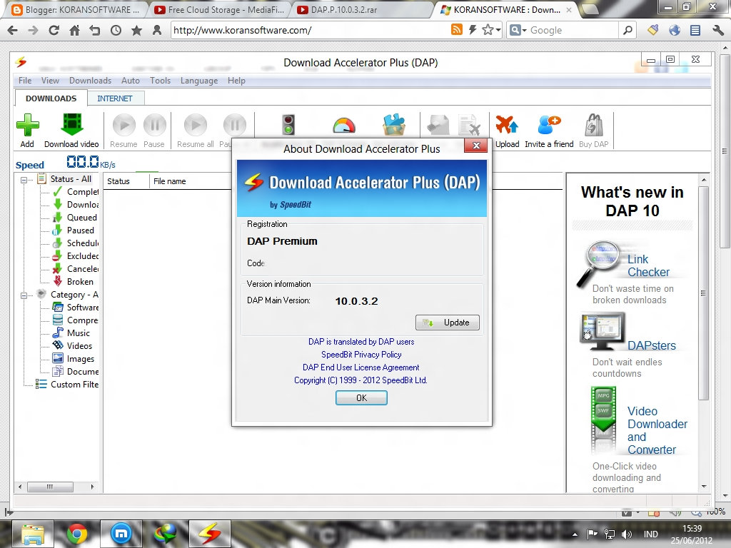 download accelerator plus dap 10.0.4.3