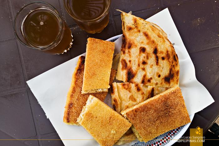 M'semen Harcha Sweet Tea Casablanca Food Trip