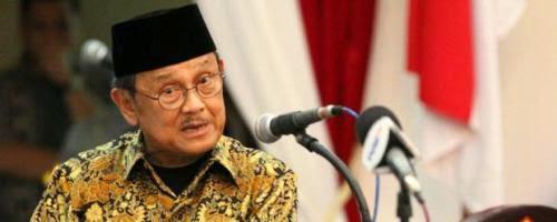habibie salah satu politikus akademisi dan presiden paling amanah yang pernah indonesia miliki