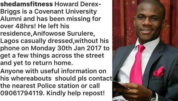Share the word: This man has been missing for 2 days