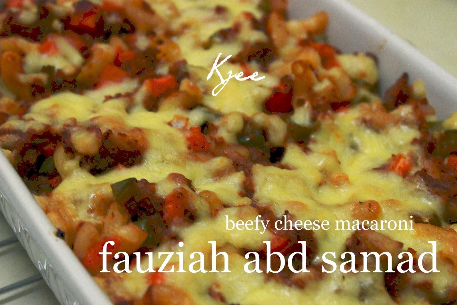 85 Baked Beefy Cheese Macaroni Fauziahsamadcom