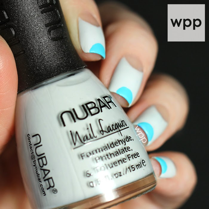 Nubar Pop Collection Half Moon Mani