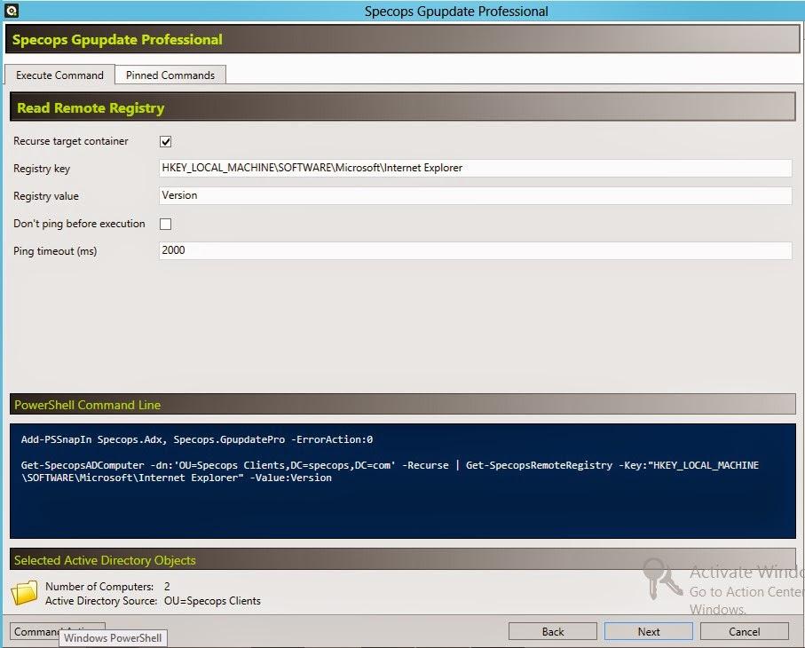 Specops Software Deployment Blog