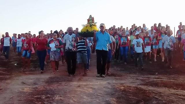 """Alvorada abre a programação da Padroeira de Macajuba """"Santa Luzia"""""""