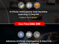 Artificial Intelligence and Machine Learning E-Degree Duo Deal