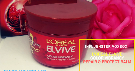 VoxBox Review: L'oreal Elvive Revive Color Vibrancy Repair & Protect Balm