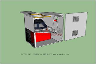 Skema Box FSCOOP 118 subwoofer