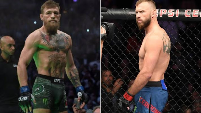 Donald Cerrone's match against McGregor was considered an appropriate match