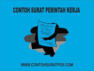 Gambar untuk Contoh Surat Perintah Kerja (SPK) Yang Baik dan Benar