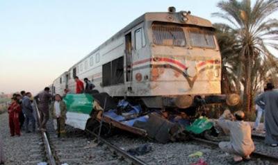 عـاجل | لا حول ولا قوة الا بالله حادث قطار جديد شاهد التفاصيل