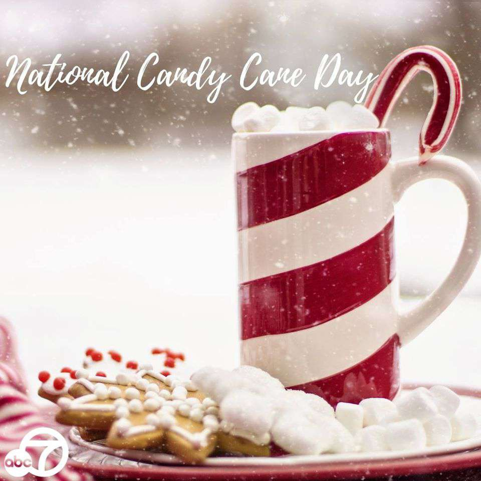 National Candy Cane Day Wishes For Facebook
