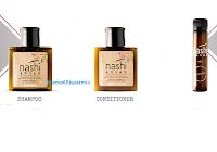 Logo #NashiOnTour : kit 3 prodotti omaggio ( olio, shampoo e balsamo)