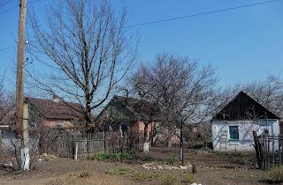 Сухой Яр, Покровский р-н. Улица Калиновая