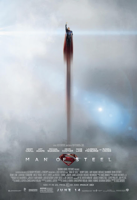 Man of Steel Poster 002 | A Constantly Racing Mind