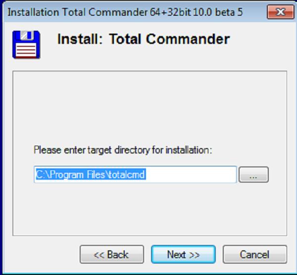 Hướng dẫn cài đặt phần mềm Total Commander 10.0 c