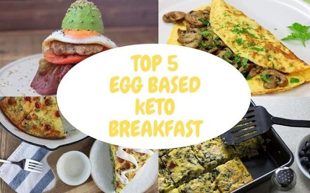 TOP 5 Keto Breakfast Recipes  - Egg healthy breakfast