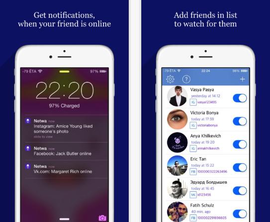 تطبيق Netwa بفكرة مميزة سيخبرك عندما يكون صديقك متصل على واتس