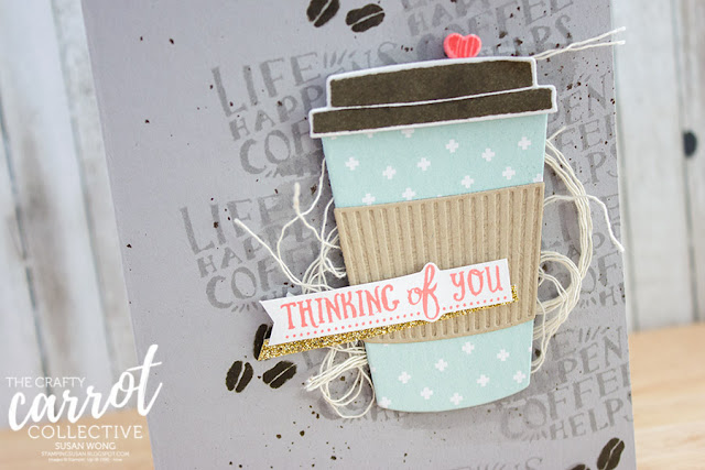 Coffee Cafe by Stampin' Up! - Susan Wong for The Crafty Carrot Co.