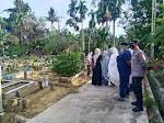 Kapolsek Langsa Timur Pimpin Pengamanan Pemakaman Jenazah Pasien Covid-19