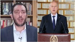 ياسين العياري : حديث الرئيس اليوم محترم جدا شكلا ومضمونا