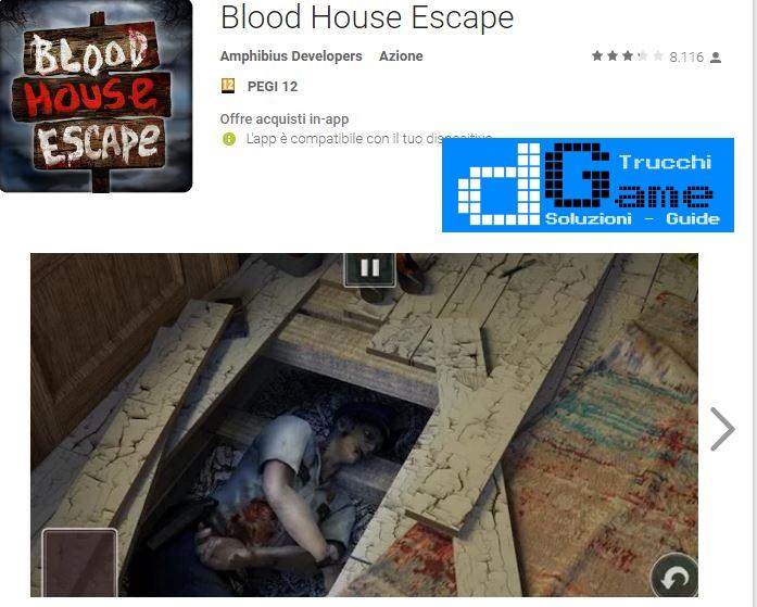 Soluzioni Blood House Escape di tutti i livelli | Walkthrough guide