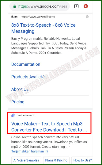 cara mengganti nada dering wa dengan suara google