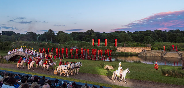 Kynren outdoor show in Durham