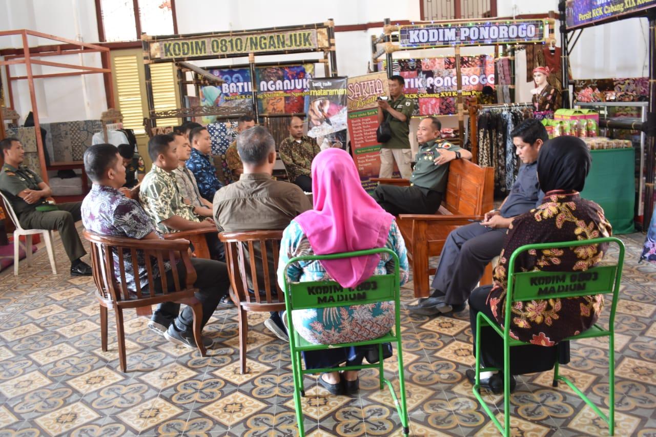 Danrem 081/DSJ: Galeri Batik Mataraman Untuk Membantu Masyarakat